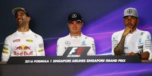 Formel-1-Live-Ticker: Ricciardo ist Mercedes-Duell unangenehm