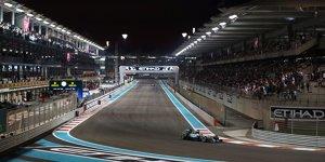 Abu Dhabi: Mega-Show zum Formel-1-Finale, Zukunft gesichert
