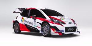 WRC 2017: Toyota holt Microsoft als Partner an Board