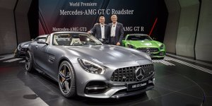 Paris 2016: Mercedes-AMG GT Roadster in zweifacher Ausf�hrung