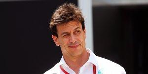 Toto Wolff weist Lewis Hamilton in die Schranken