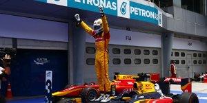 GP2 Sepang 2016: Giovinazzi gewinnt, Desaster f�r Gasly