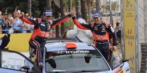 Rallye Spanien: Vier Hyundai unter den Top 7