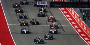 TV-Programm Formel 1 Austin/USA: Livestream und Live-TV