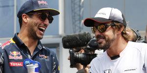 �berraschende Antwort: Alonso nennt den besten Fahrer