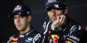 Mark Webbers Erinnerungen: So viel opfert Vettel f�r den Erfolg
