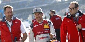 Nach DTM-Aus: Audi will weitere Zusammenarbeit mit Scheider