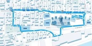 Formel E pr�sentiert Streckenlayout von Montreal