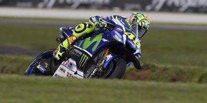 "Yamaha im Niemandsland: ""Seltsamer Tag"" f�r Rossi und Co."