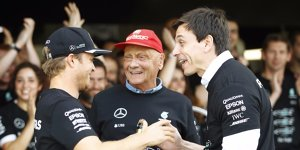 """Unfair"": Mercedes kontert Bernie Ecclestones Rosberg-Kritik"