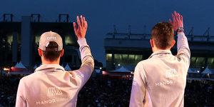 Mercedes-Junioren: Ocon hat die besseren Karten als Wehrlein