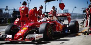 Sebastian Vettel: Warum er so sp�t nochmal an die Box kam