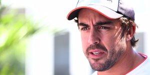 """Alonso-Zukunft: """"W�rde auch mit Mercedes-Angebot aufh�ren"""""""