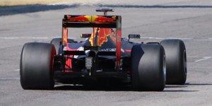Formel-1-Live-Ticker: Red Bull von 2017er-Reifen begeistert
