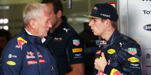Zu hoher Reifenverschlei�: Marko kritisiert Verstappen