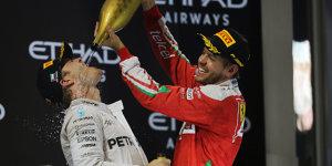 Verschwörungstheorie: Wollte Vettel Hamilton verhindern?