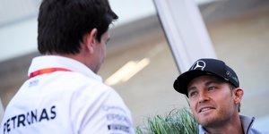 Toto Wolff: Für Nico Rosberg gibt es kein Zurück
