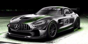 Mercedes-AMG entwickelt GT4-Sportwagen