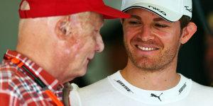 Doppeltes Spiel: Rosberg verwundert über Lauda-Vorwürfe
