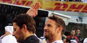 Highlights des Tages: Weihnachtsgruß von Jenson Button