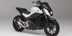 Honda auf der CES 2017: Dieses Motorrad kippt nicht um