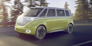 Detroit 2017: VWs Idee vom selbstfahrenden Elektro-Bulli