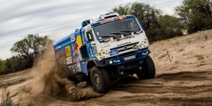 Dakar-Trucks: Kamaz-Fahrer Nikolaew holt zweiten Gesamtsieg