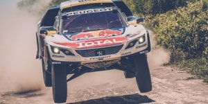 Video-Clips: Die spektakulärsten Momente der Rallye Dakar