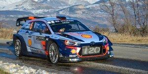 Rallye Monte Carlo: Neuville führt - Meeke schon draußen