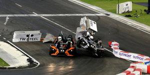 Pascal Wehrlein: Horrorcrash beim Race of Champions!
