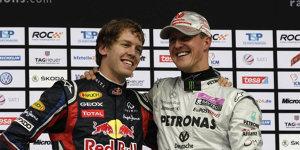 Vettel siegt beim Race of Champions - dank Schumacher!