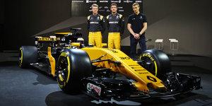 Formel-1-Live-Ticker: Renault will WM-Rang fünf