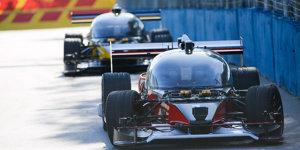 Fahrerloses Rennen: Erstes Roborace endet mit Unfall