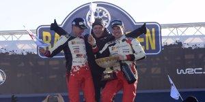 Rallye Deutschland: Podium wie in Schweden
