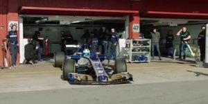 Formel-1-Live-Ticker: Erster 2017er-Bolide in Aktion