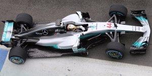 Neuer Mercedes F1 W08: Erste Fotos aufgetaucht!