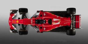 Formel-1-Technik 2017: Ferrari spielt mit dem SF70-H Vabanque