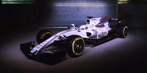 Williams zeigt den FW40: Jubiläumsauto mit Flosse