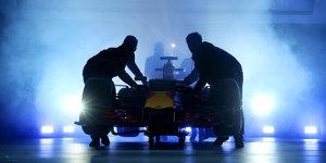 Aerodynamik als Trumpf: Red Bull bringt sich in Lauerstellung