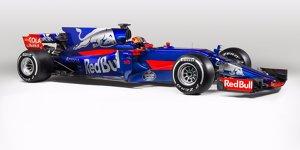 Energy-Dose auf vier Rädern: Toro Rosso präsentiert STR12