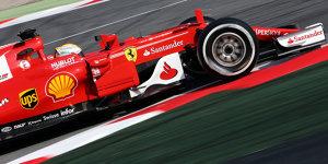 Formel-1-Tests 2017: Vettel und Ferrari zum Auftakt vorne