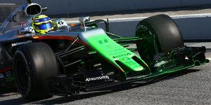 Auspuff-Problem bei Force India: Perez nur am Morgen im Auto