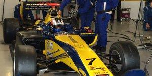 Erste Super-Formula-Runden für Gasly und Rosenqvist