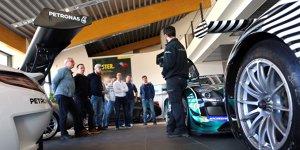 Nürburgring goes Uni: Motorsport-Studenten auf Stippvisite