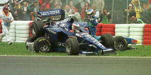 Fotostrecke: Die größten Crashpiloten der Formel-1-Geschichte