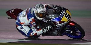 Moto3-Test Katar: Fenati knapp vorn, Öttl in den Top 10