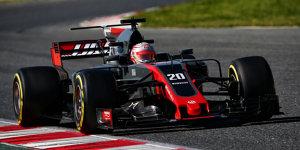 Erstes Opfer: Haas muss T-Flügel entfernen