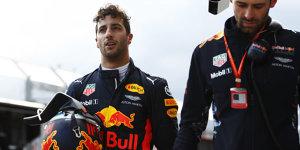 """Red Bull abgeschlagen: Ricciardo """"überrascht"""" von Crash"""