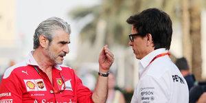 Medienblockade: Toto Wolff nimmt Ferrari in Schutz
