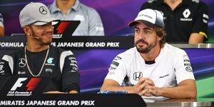 Hamilton zollt Respekt: Von Alonso noch nicht alles gesehen
